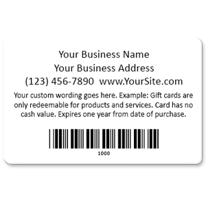 Pre designed gift cards that integrate with your software pre designed gift cards back colourmoves
